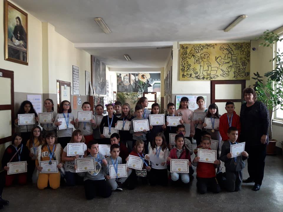 """Международно състезание """"Математика без граници"""" - есенен кръг - голяма снимка"""